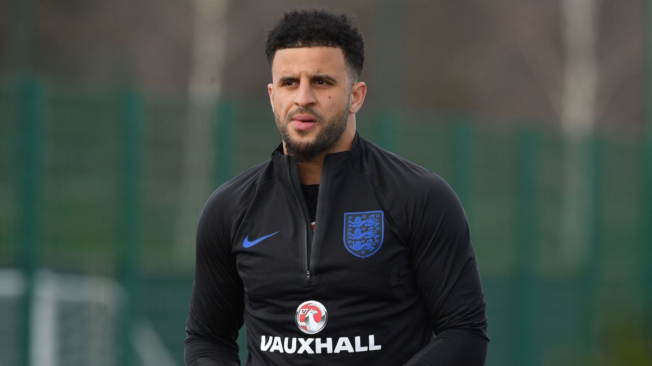 Kyle Walker's learned a lot at Man City and that coaching is going to help the England team, too.