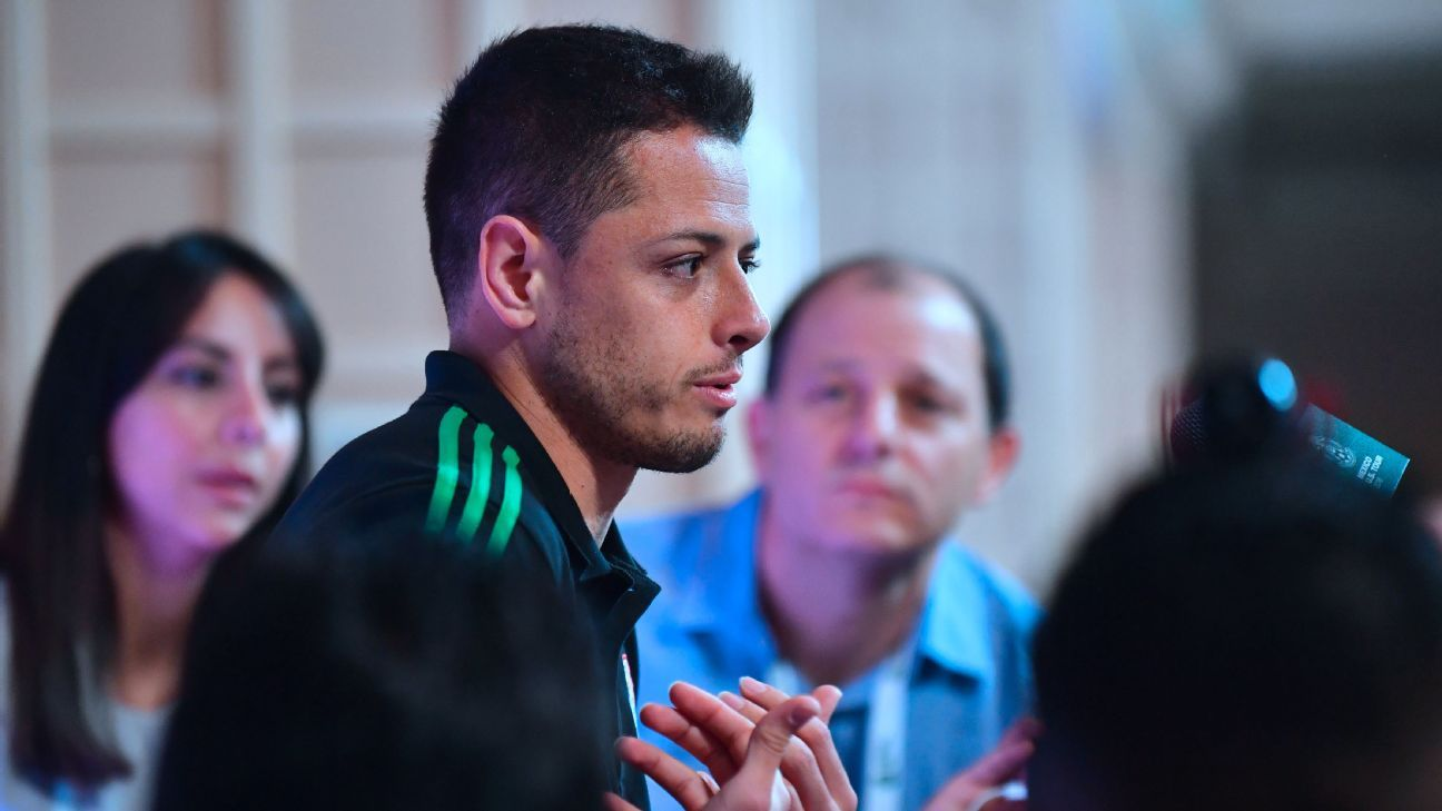 Chicharito Mexico presser 180525