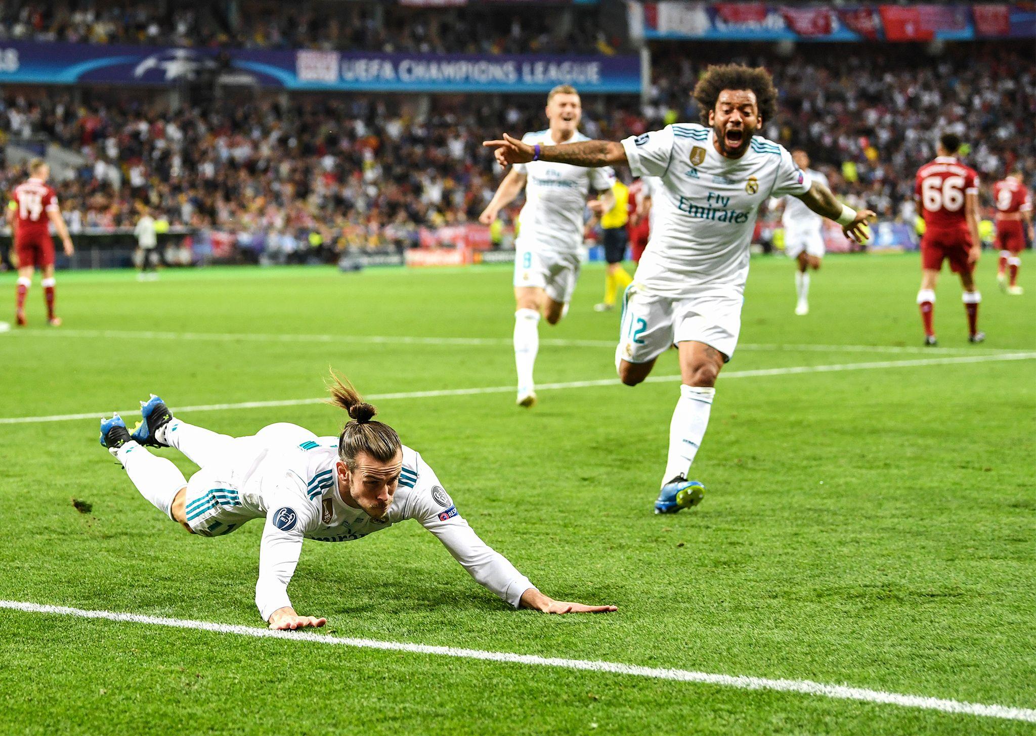 Gareth Bale brilliant bicycle kick wins the Champions ...