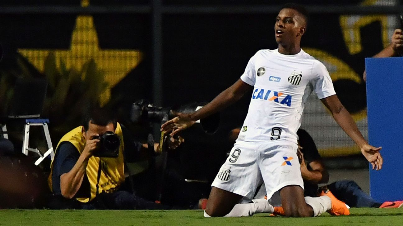 Rodrygo Goes is a target for Barcelona and many other top European clubs.