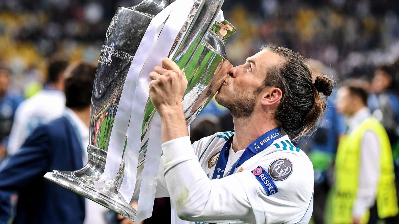 Gareth Bale has won the Champions League three times with Real Madrid.