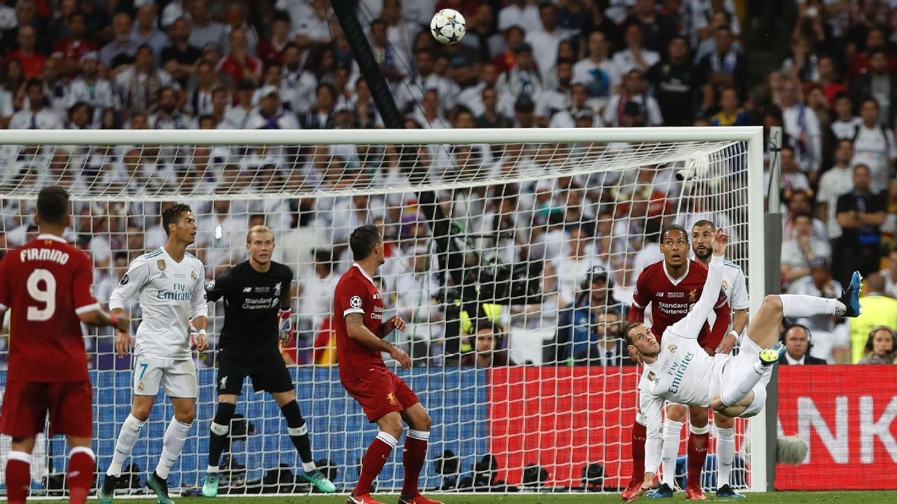 VOTE: Gareth Bale's stunning overhead kick: Which was the