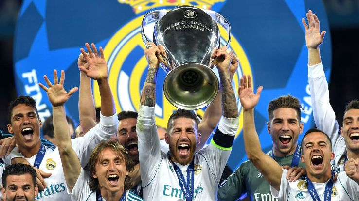 Real Madrid lifted the Champions League after beating Liverpool 3-2 in the final in Kiev.