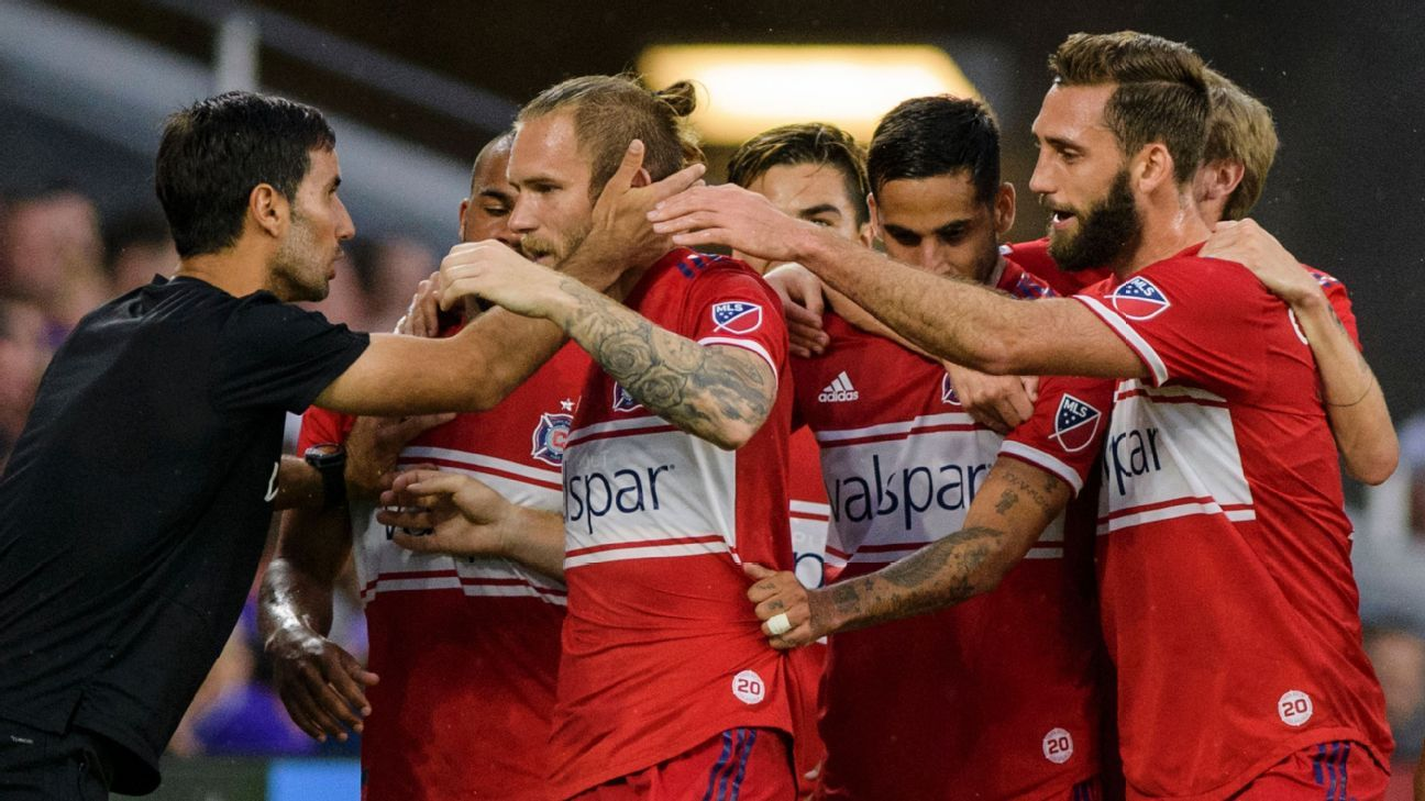 Alan Gordon's late goal lifts Chicago Fire to win at Orlando City