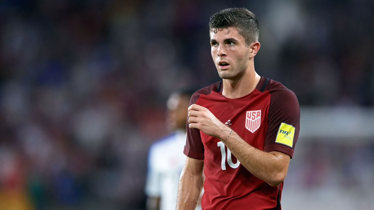 Christian Pulisic is excited by the young talent the U.S. have breaking through.