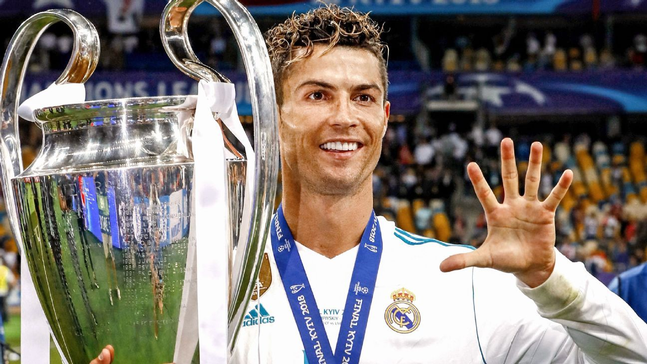 Cristiano Ronaldo has now won the Champions League five times.