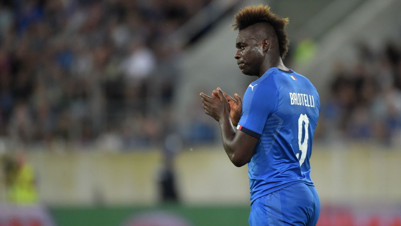 Mario Balotelli has returned to the international fold under Roberto Mancini.