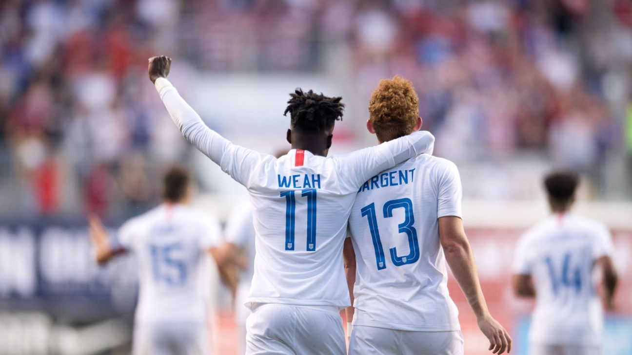 Weah and Sargent still have a ways to go but they definitely took their chance vs. Bolivia.