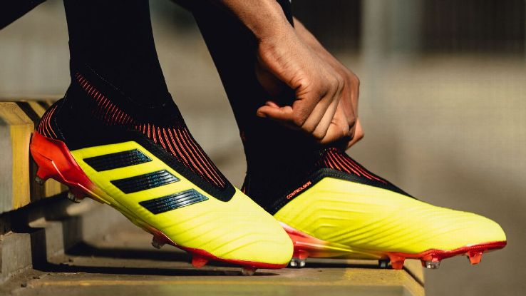 The Adidas Predator 18+ can be found on the feet of commanding midfielders like Paul Pogba and Ivan Rakitic.