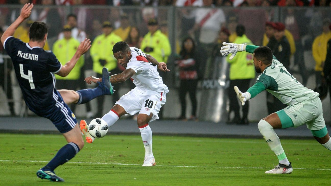 Jefferson Farfan has returned to star for the national team, evidenced by his goal against Scotland.