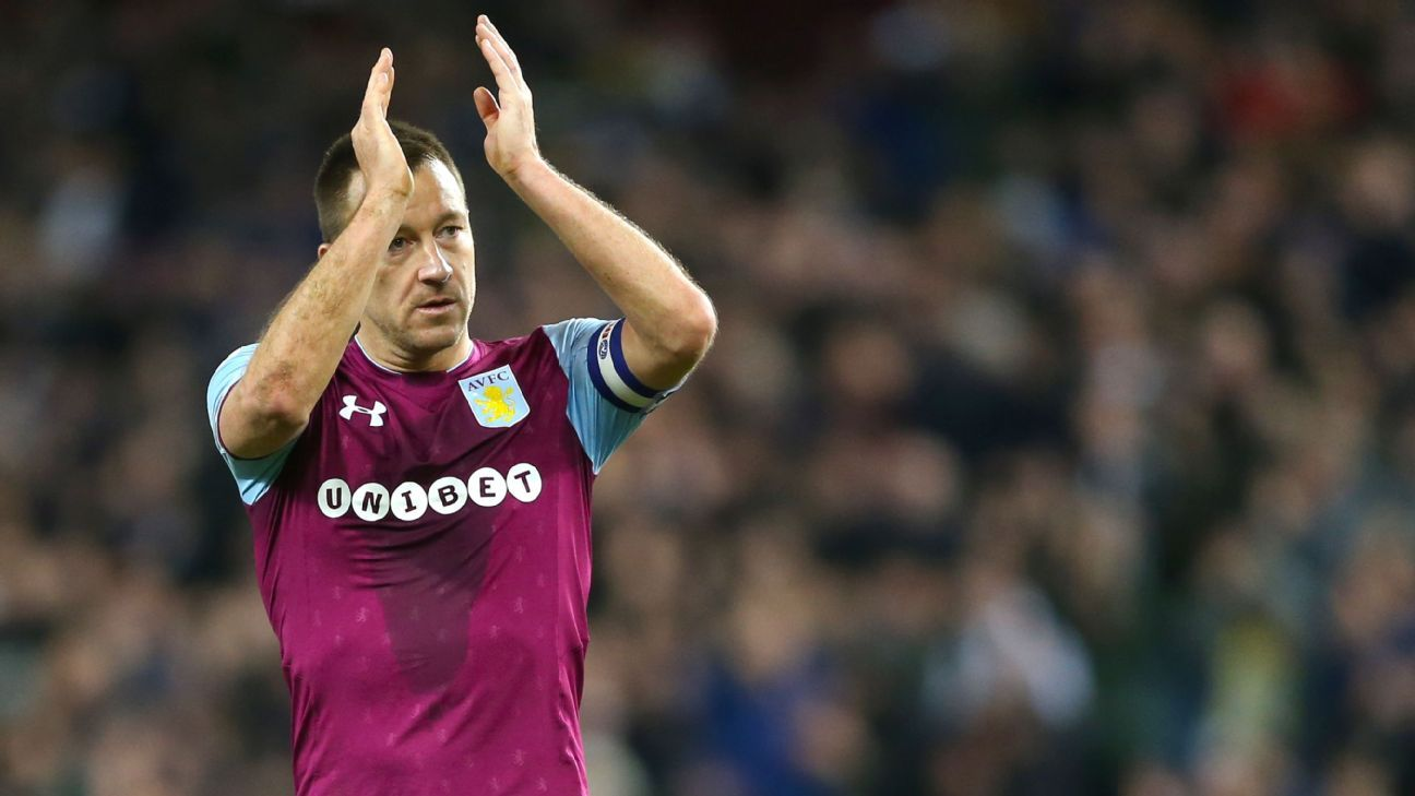 John Terry is leaving Aston Villa after failing to win promotion to the Premier League.