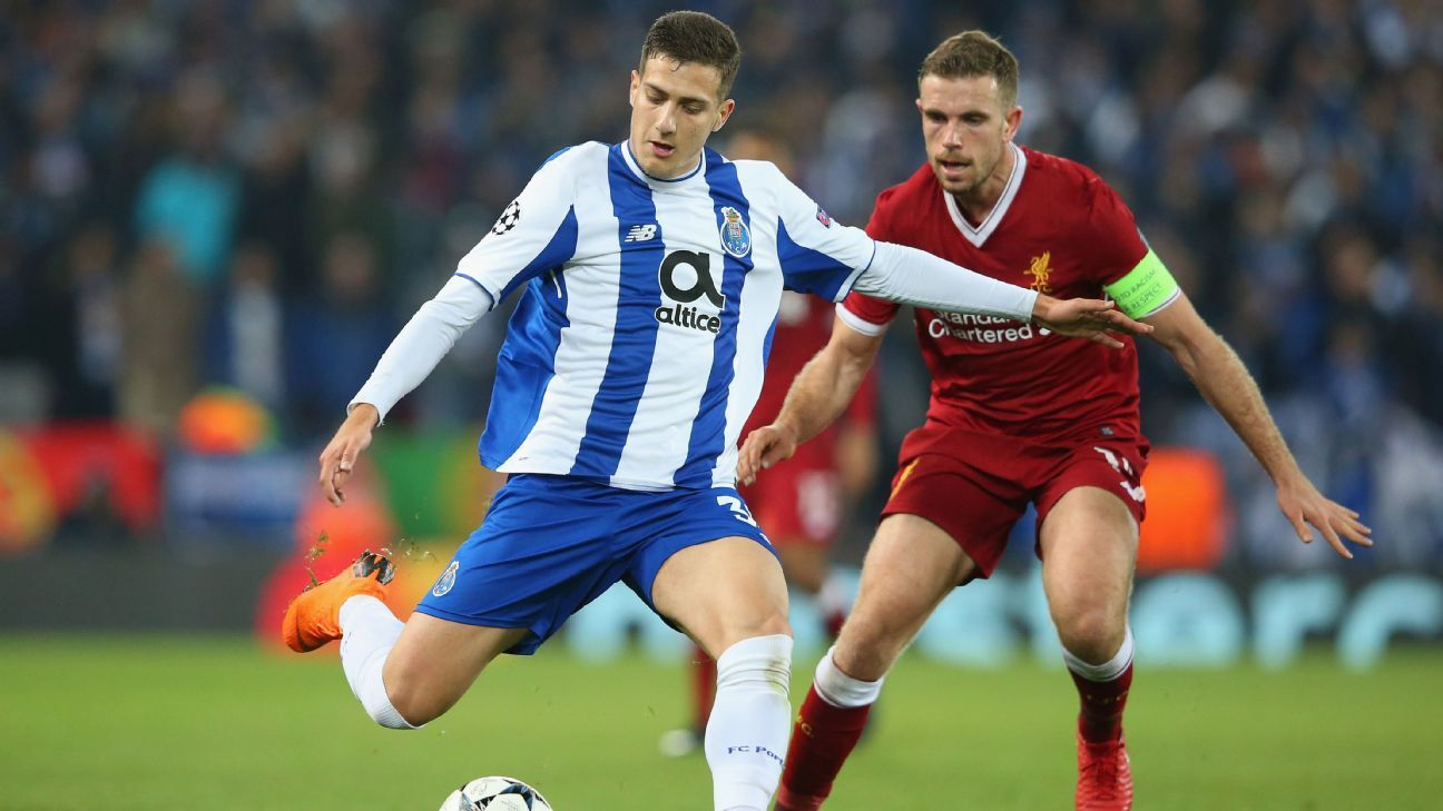 Diogo Dalot played in the Champions League against Liverpool this season.