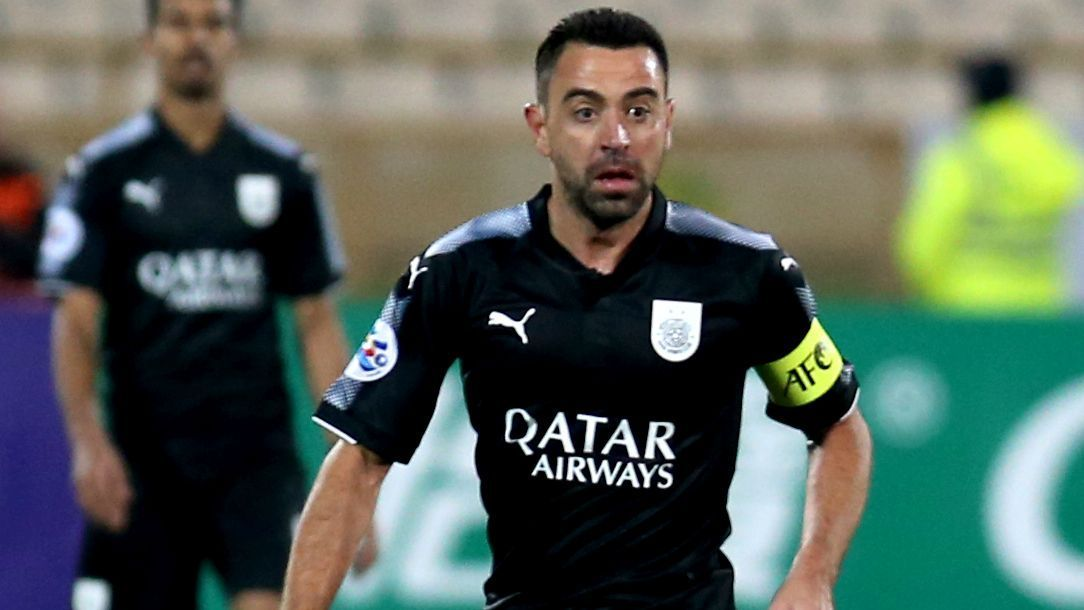 Xavi Hernandez joined Qatari club Al Sadd in 2015 after more than 20 years at boyhood club Barcelona