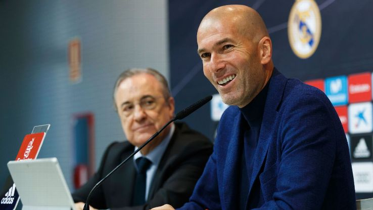 Zidane displayed much of the calm and cool we've come to expect from the departing Real Madrid manager as he explained his decision to leave.