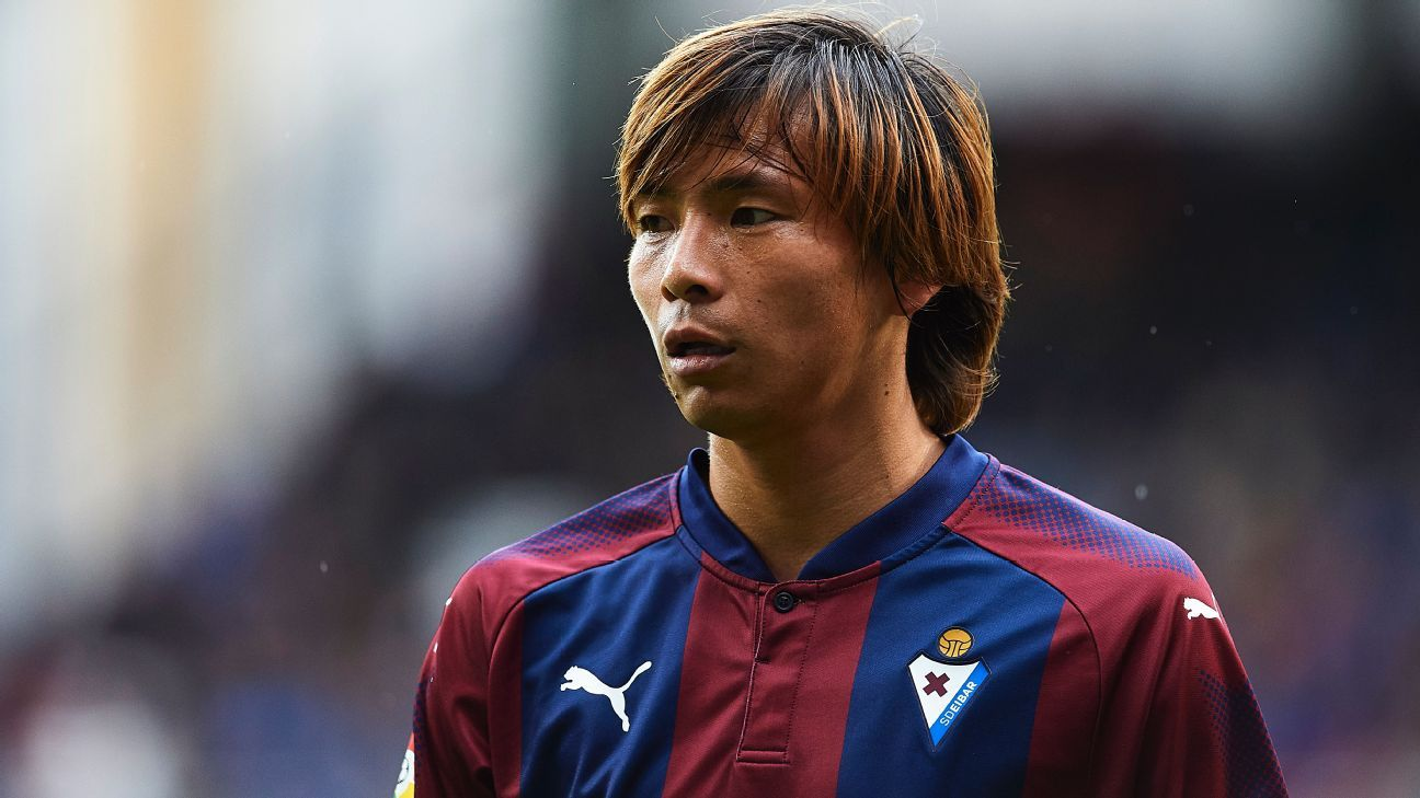 Takashi Inui will leave Eibar for Real Betis.