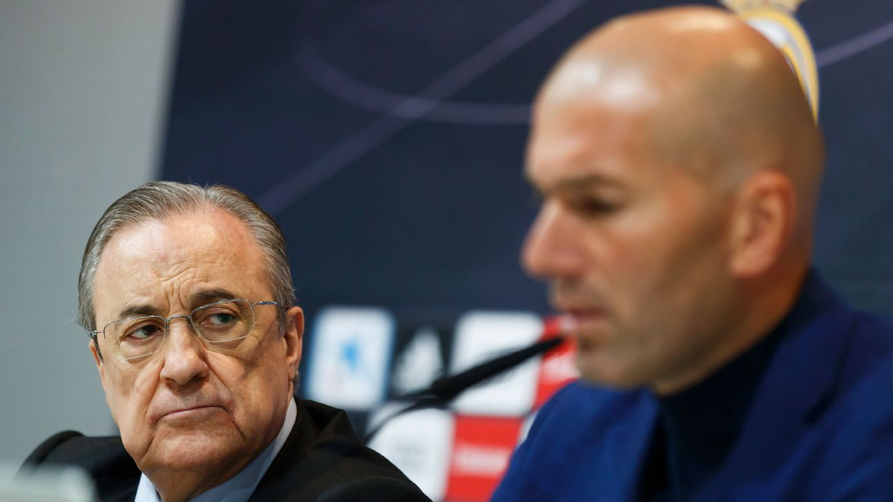 Zidane's decision to step away might be connected to the kind of manager who can handle Real in the long term.