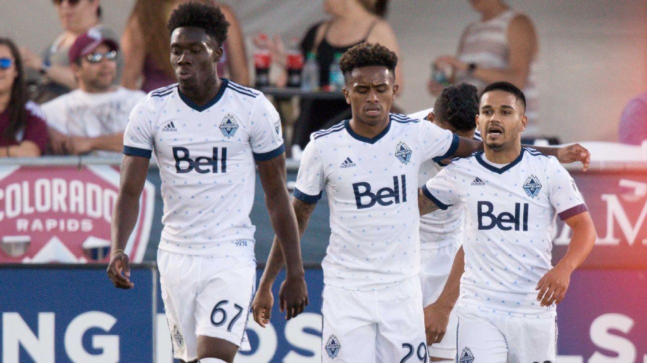 Vancouver Whitecaps send Colorado Rapids to seventh straight defeat