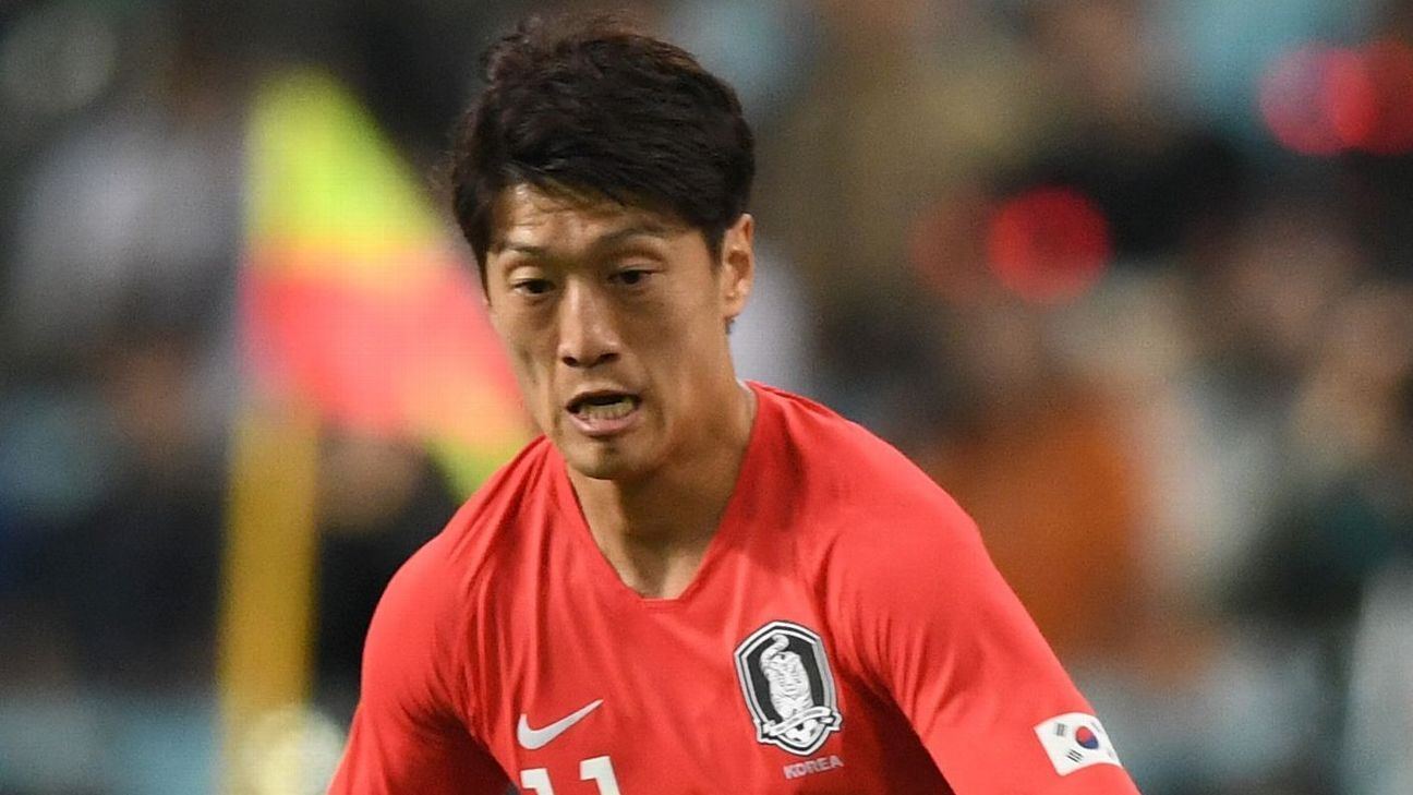 Lee Chung-Yong played for South Korea at the 2010 and 2014 World Cups but missed out in 2018