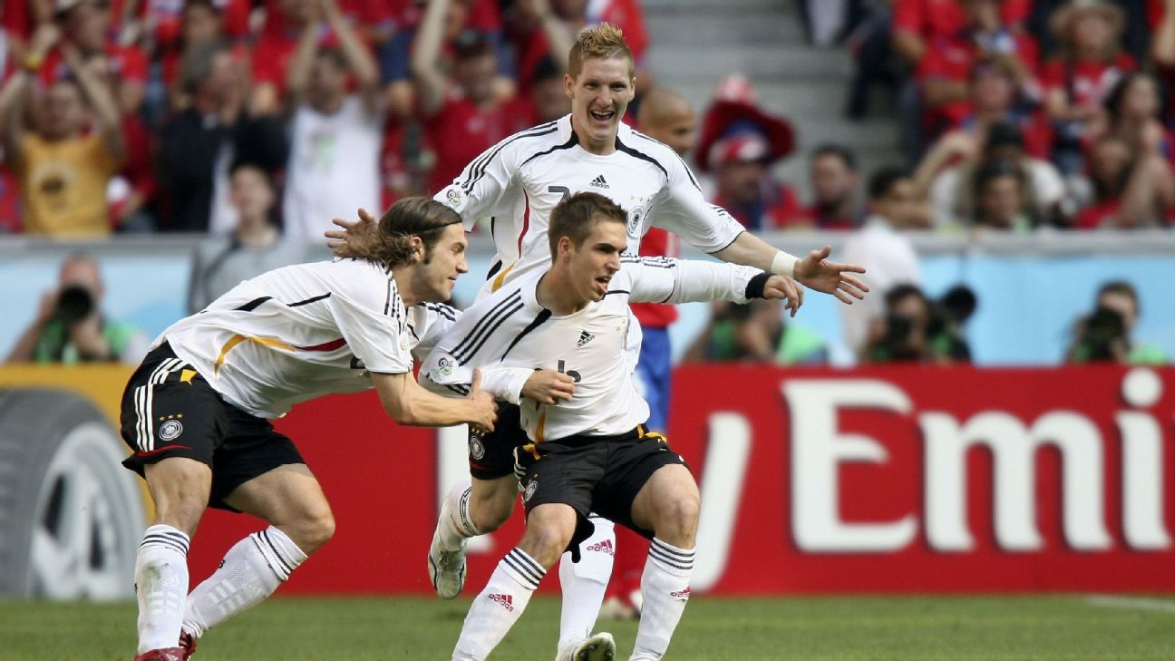 Philipp Lahm scored the opening goal of the 2006 World Cup.