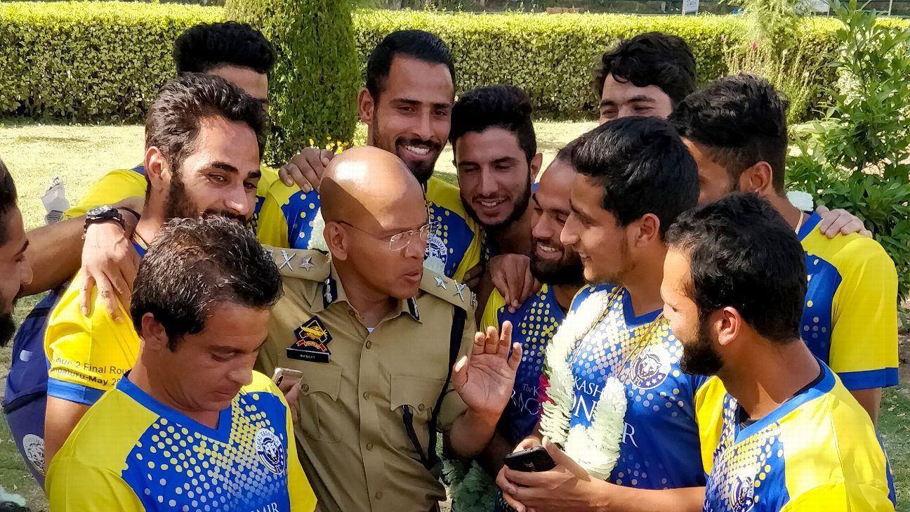 Basant Rath, the most popular policeman in Srinagar, is something of a superstar