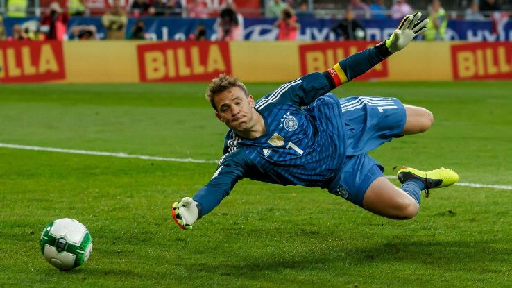 Germany's Manuel Neuer is Craig Burley's pick for Golden Gloves despite injury concerns.