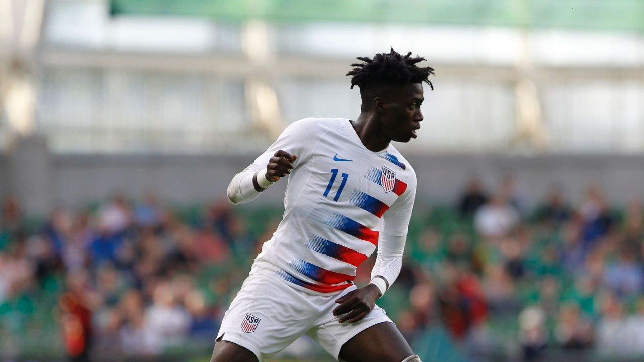 Timothy Weah has been impressing for the U.S. national team.