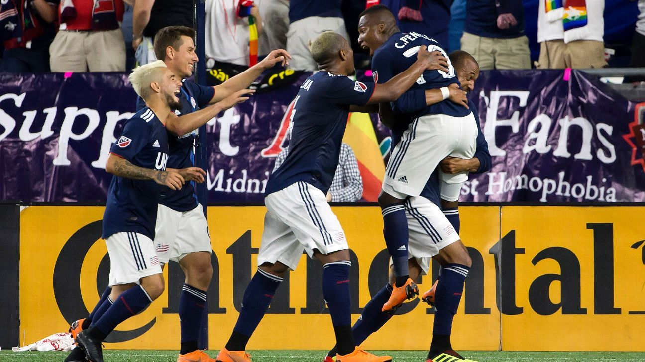 Teal Bunbury winner leads New England Revolution past New York Red Bulls