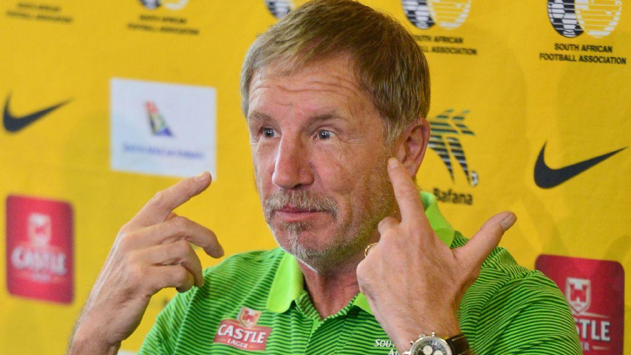 Stuart Baxter, coach of South Africa