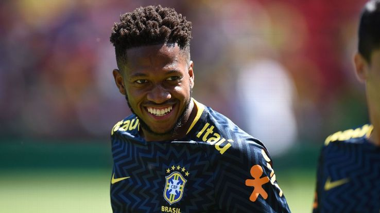Fred completed a transfer to Manchester United last week.