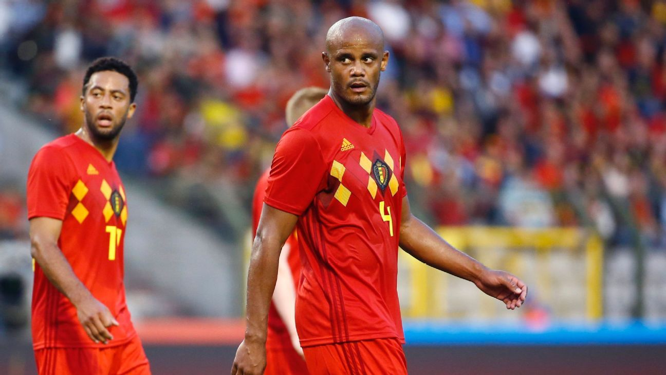 Vincent Kompany must prove his fitness ahead of Belgium's 2018 World Cup campaign.