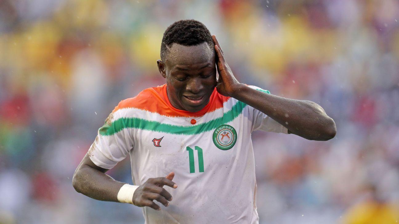 Victorien Adebayor of Niger