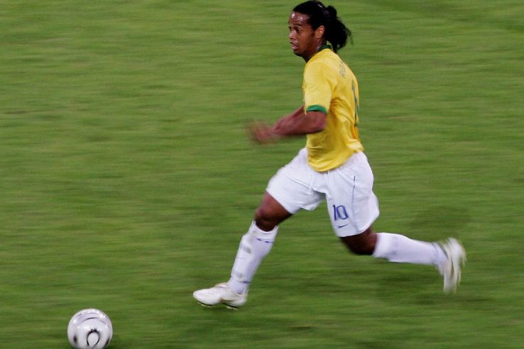 To see Ronaldinho run at full speed was an unbelievable sight.