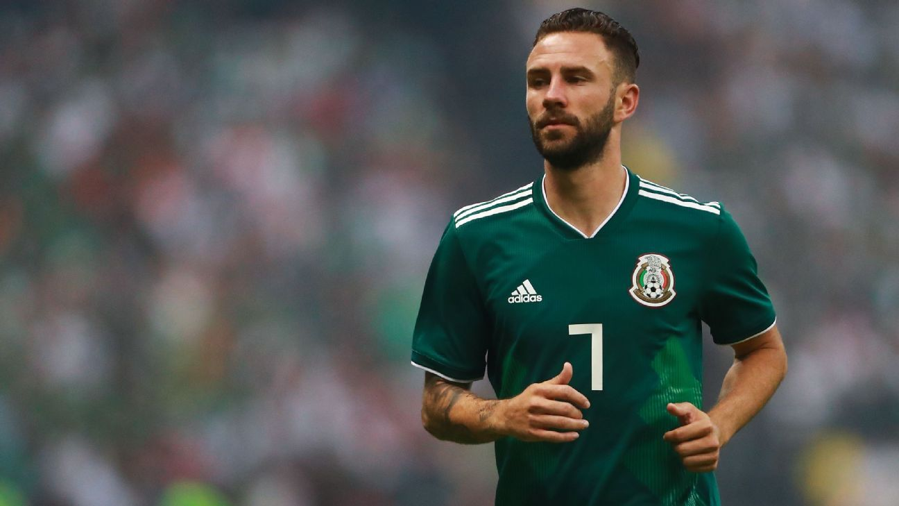 Layun has played more or less every position and will do whatever's required for Mexico at this summer's World Cup.