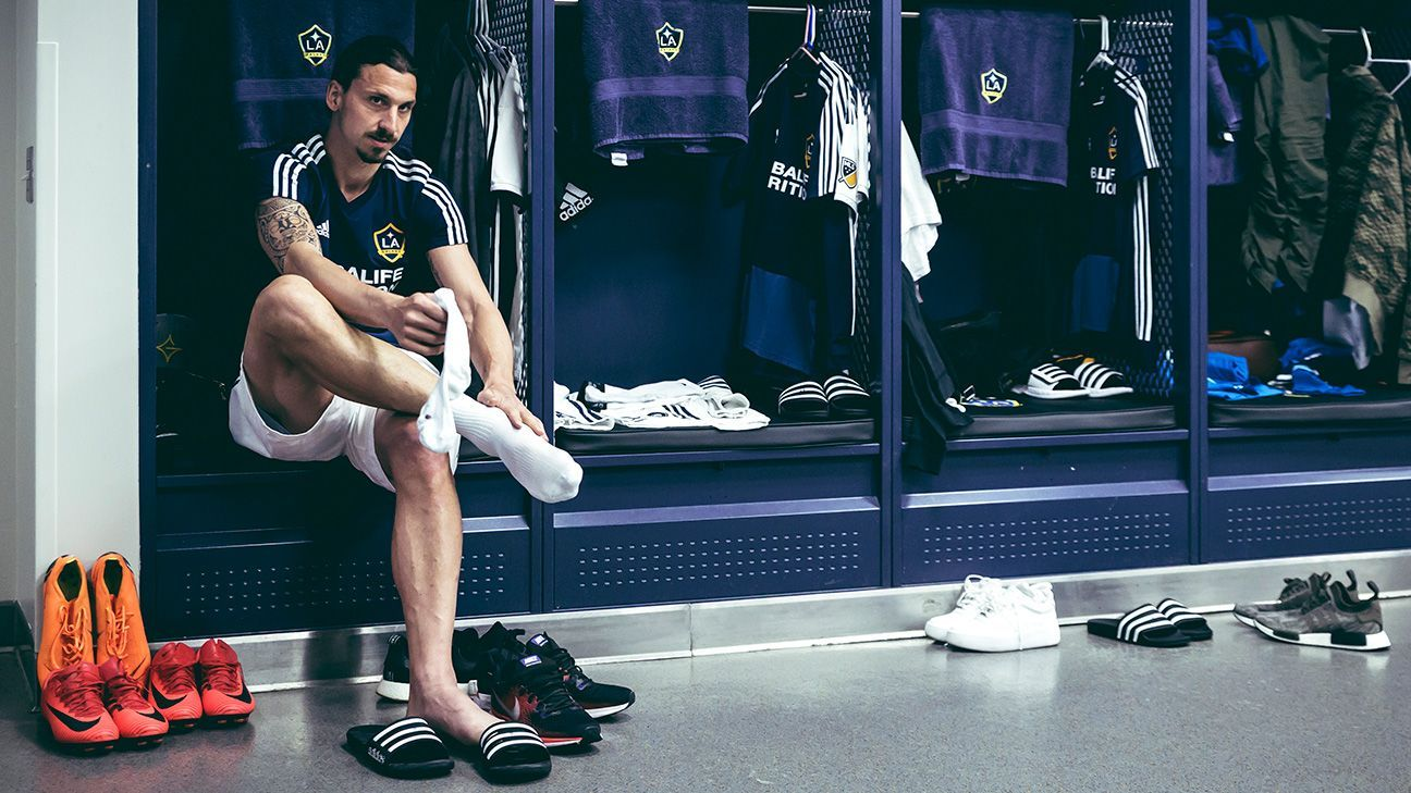 Ibrahimovic has no illusions about his time in Los Angeles. 'I'm here as long as you think I perform,' he says.