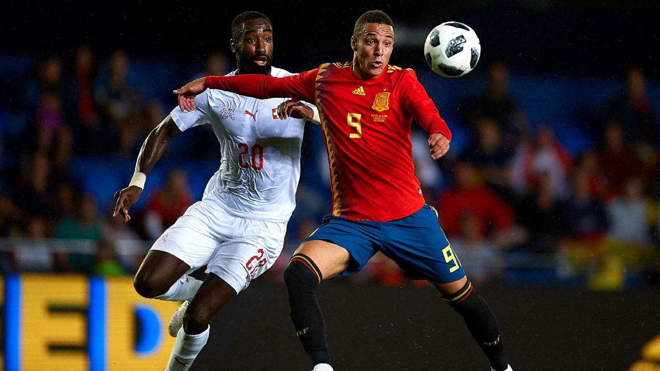 Rodrigo (R), who might well start for Spain against Portugal, learned a lot from his dizzying year at, of all places, Bolton Wanderers.