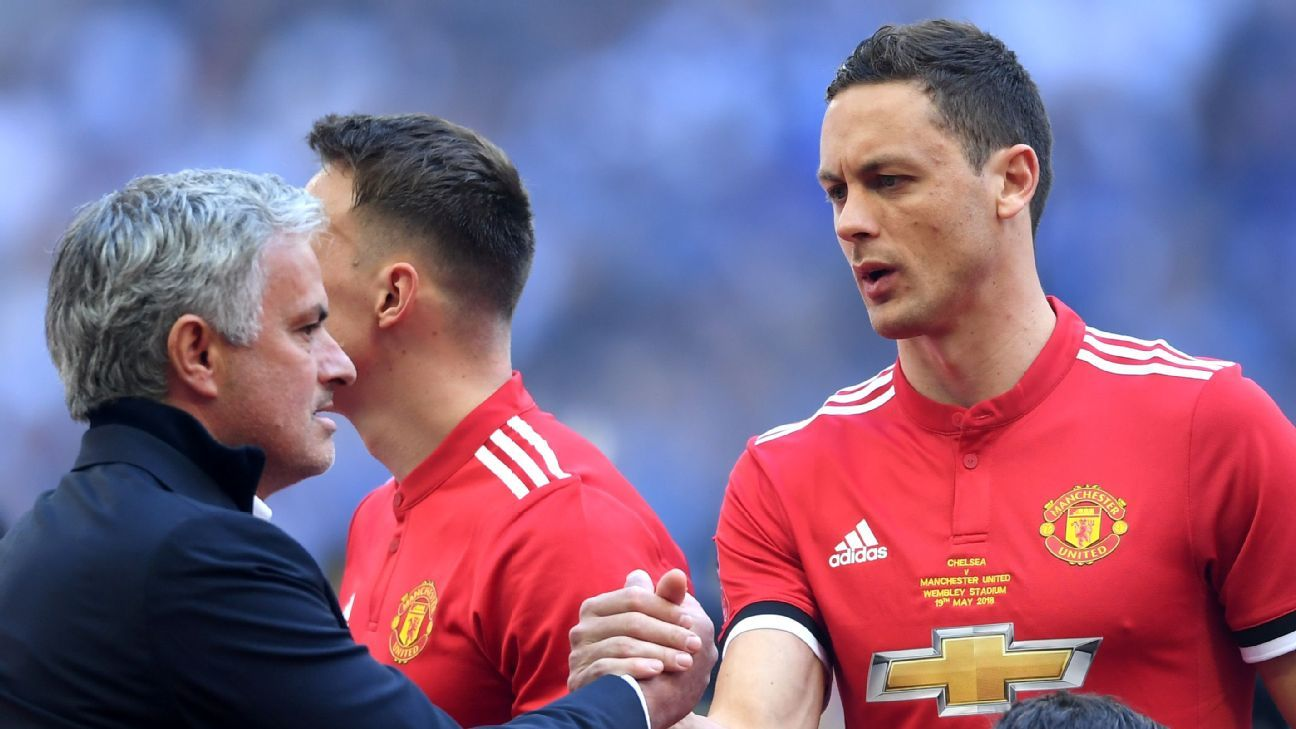 Jose Mourinho has managed Nemanja Matic at Chelsea and Manchester United.