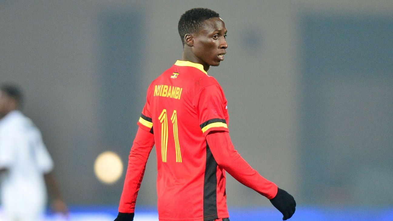 Derrick Nsibambi of Uganda