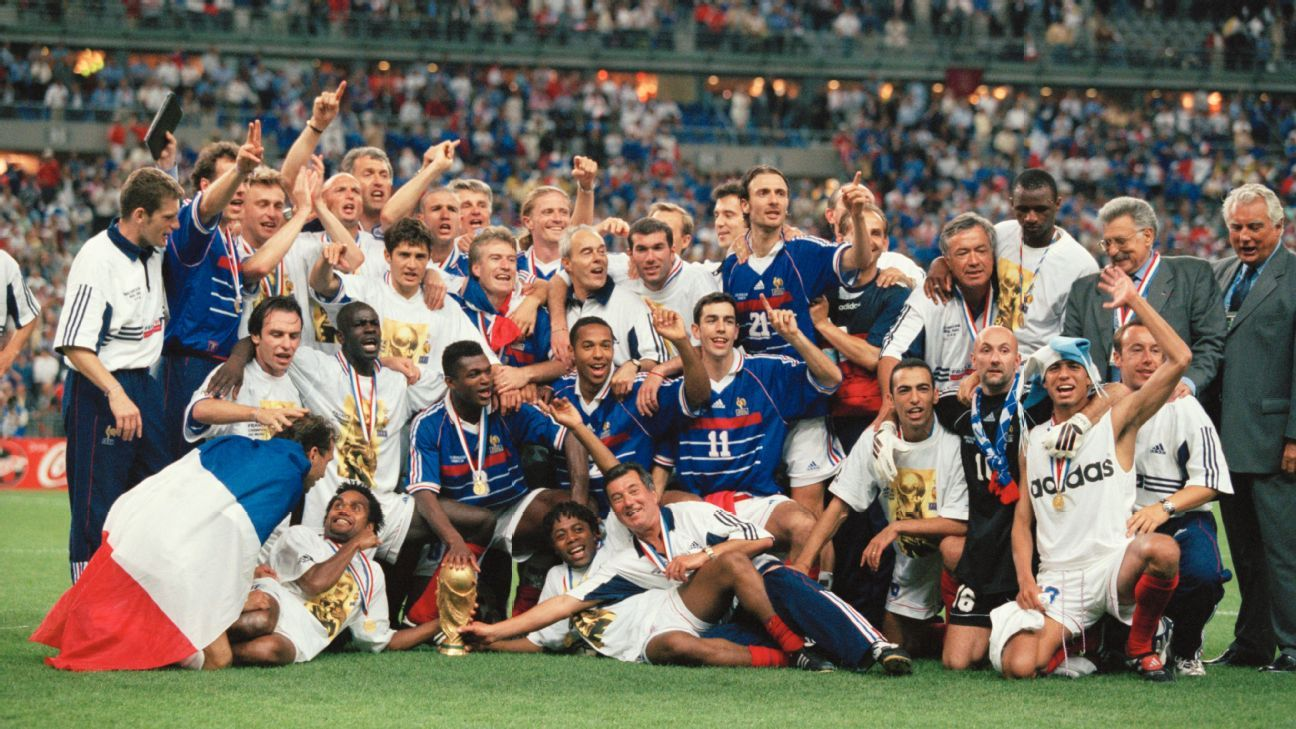 France became the first host nation since 1978 to win the World Cup and no country has done it since.