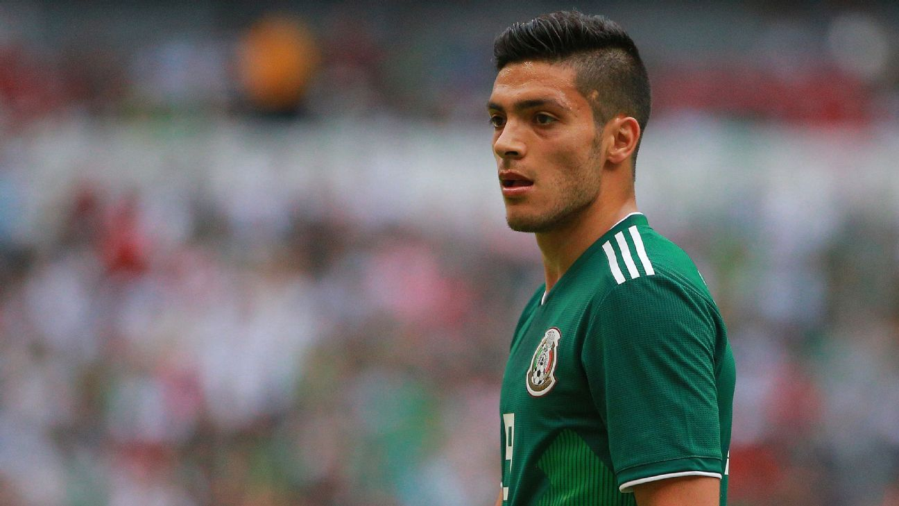 Despite behind Javier Hernandez and Oribe Peralta in the pecking order, Raul Jimenez's optimism hasn't dimmed.