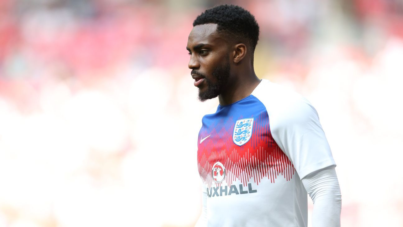 Danny Rose is part of England's squad for the 2018 World Cup in Russia.