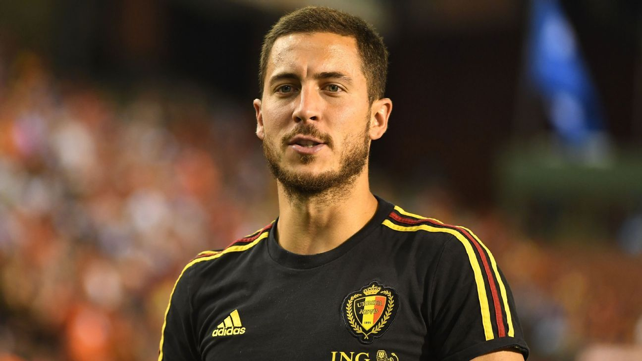 Eden Hazard scored in Belgium's pre-World Cup friendly win against Egypt.