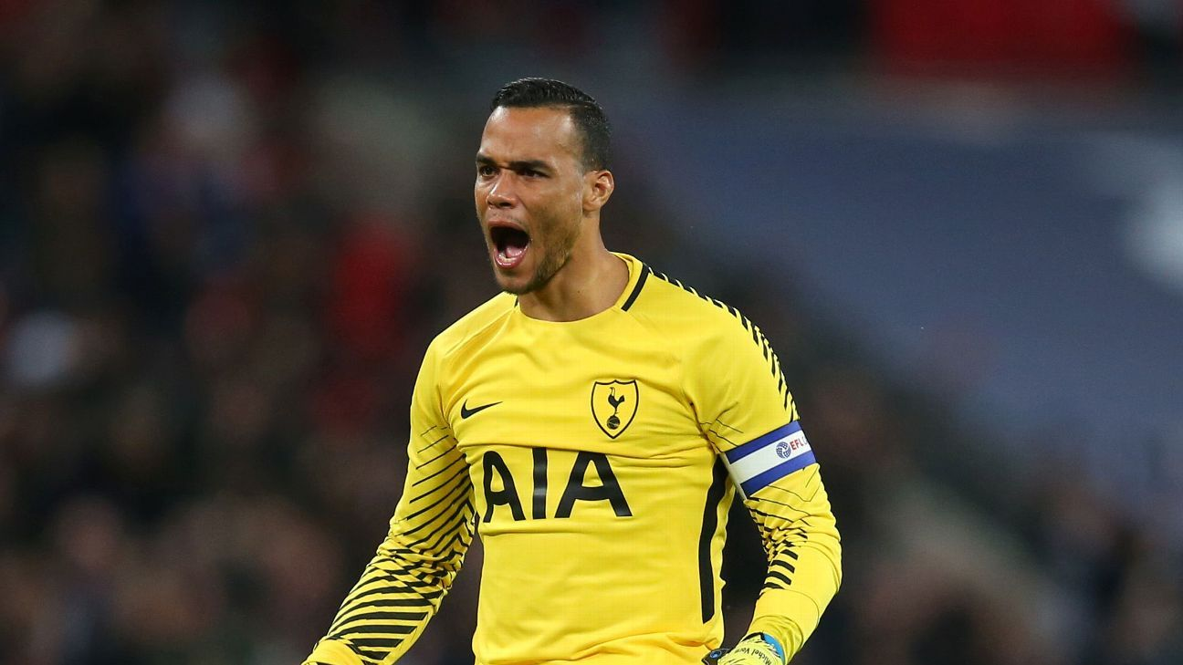 Michel Vorm captained Tottenham on a number of occasions during the 2017-18 season.