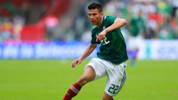 Hirving Lozano has already shown for club and country that he is not one to back down.