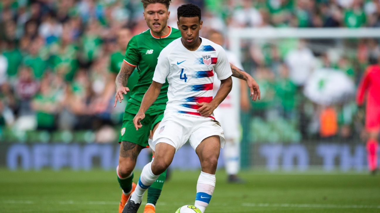 Tyler Adams will be one of several young players that the United States will rely on to ensure qualification for Qatar in four years.