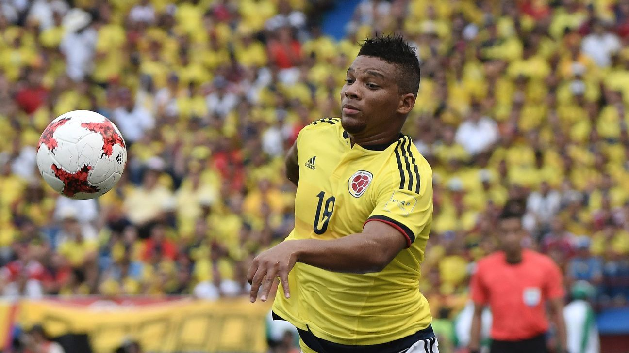 Colombia's Frank Fabra
