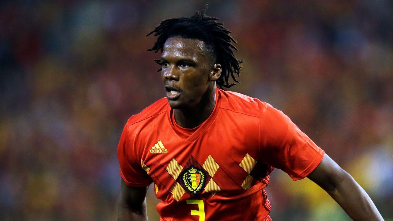 Belgium's Dedryck Boyata