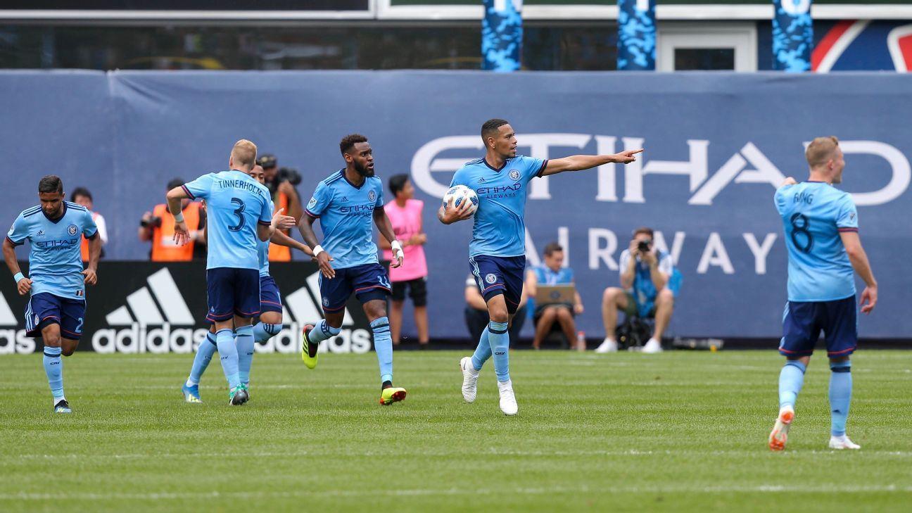 Alex Callens goal earns NYCFC draw against Atlanta United