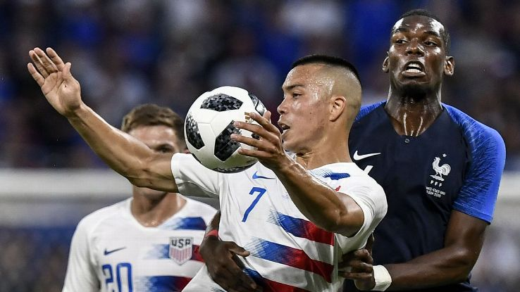 A young U.S. side held tough and held their own against virtually a first-choice France side, which should give the raw squad some confidence.