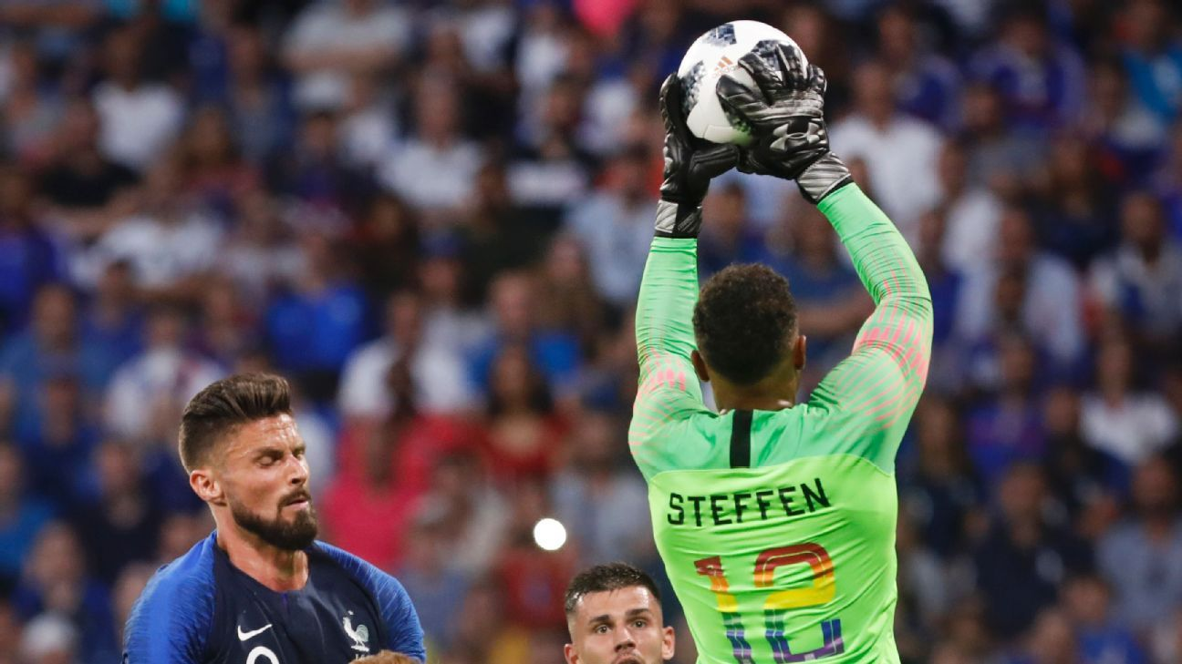 Against France, Zack Steffen boosted his claim to be the USMNT's starting goalkeeper.