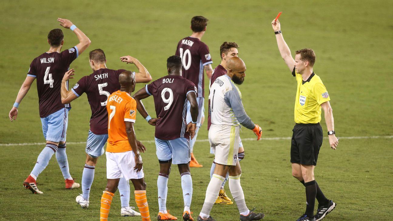 Houston Dynamo hand Colorado Rapids ninth-straight loss